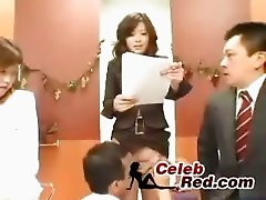 Japanese TV News Reader Fucking