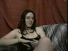 Katheryn Marie And Uber Nerd Casey Strap On Madness