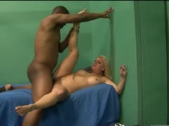 pleasing hairy blonde fucked in prison
