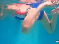 Hot Suck In Swimming Pool