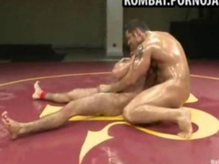 Sexy gay wrestling match