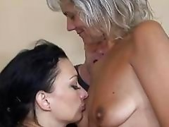 Granny fuck with girl and boy