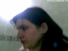 Jordanian Self tape in bathroom 21 years Tamara