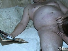 Nasty old woman gets fucked hard from