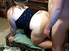 HOT FUCK #34 (Doggystyle action with a BBW)