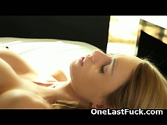 Pretty Blonde Ex Girlfriend Who Just Loves Anal Fucking