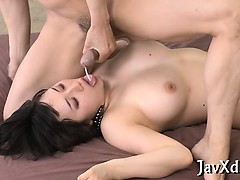 Asian nun gets banged