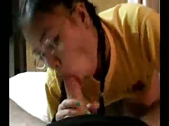 Amateur Thai blowjob