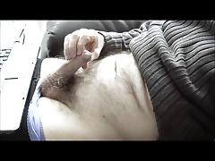 Wanking, Edging and Cuming Watching Porn