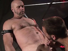 The studs keep rolling with this next scene featuring two