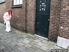 Surprise fuck on the loo