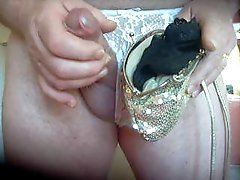 my niece friends panties in her overnight bag