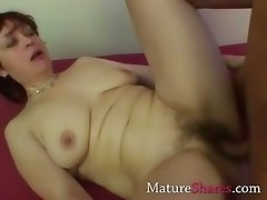 mature interracial sex action